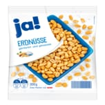 ja! Erdnüsse geröstet & gesalzen 200g
