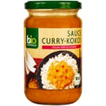 Biozentrale Bio Sauce Curry-Kokos 340ml