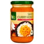 Biozentrale Bio Sauce Curry-Kokos 340ml