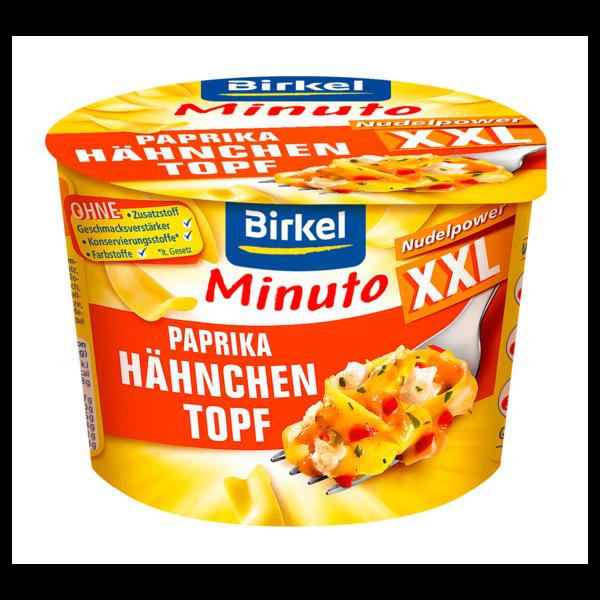 Birkel Minuto XXL Paprika Hähnchen Topf 82g