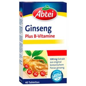 Abtei Ginseng Plus B-Vitamine 40 Stück