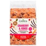 Dr. Karg's Genießer-Knäckebrot Cranberry & Kokos 200g