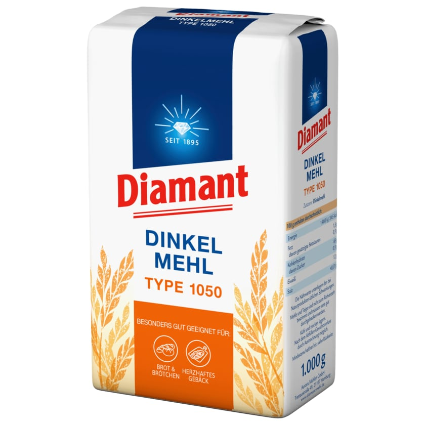 Diamant Dinkelmehl Type 1050 1kg