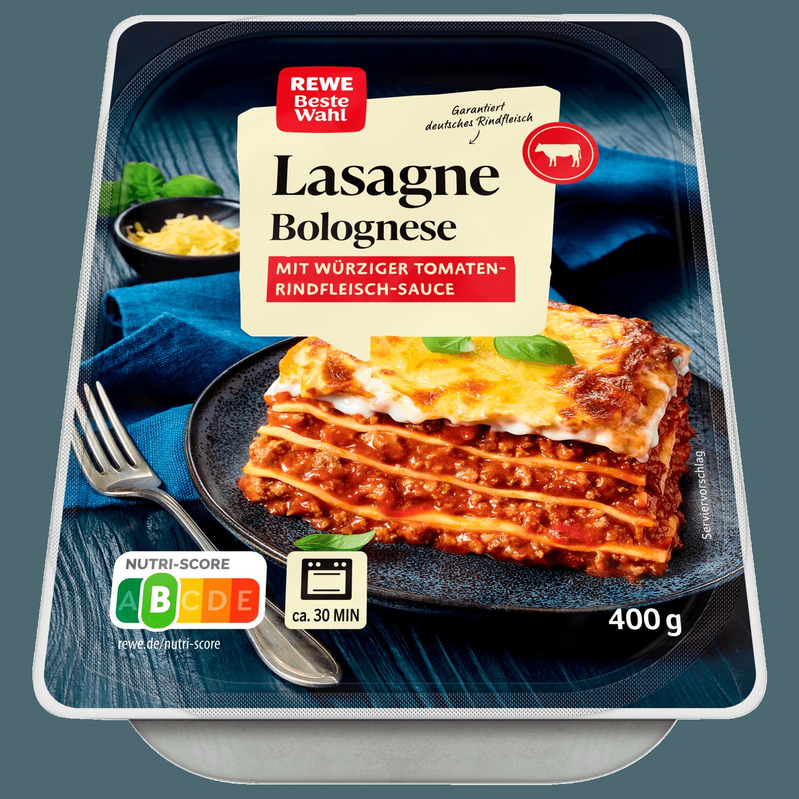 fertig lasagne