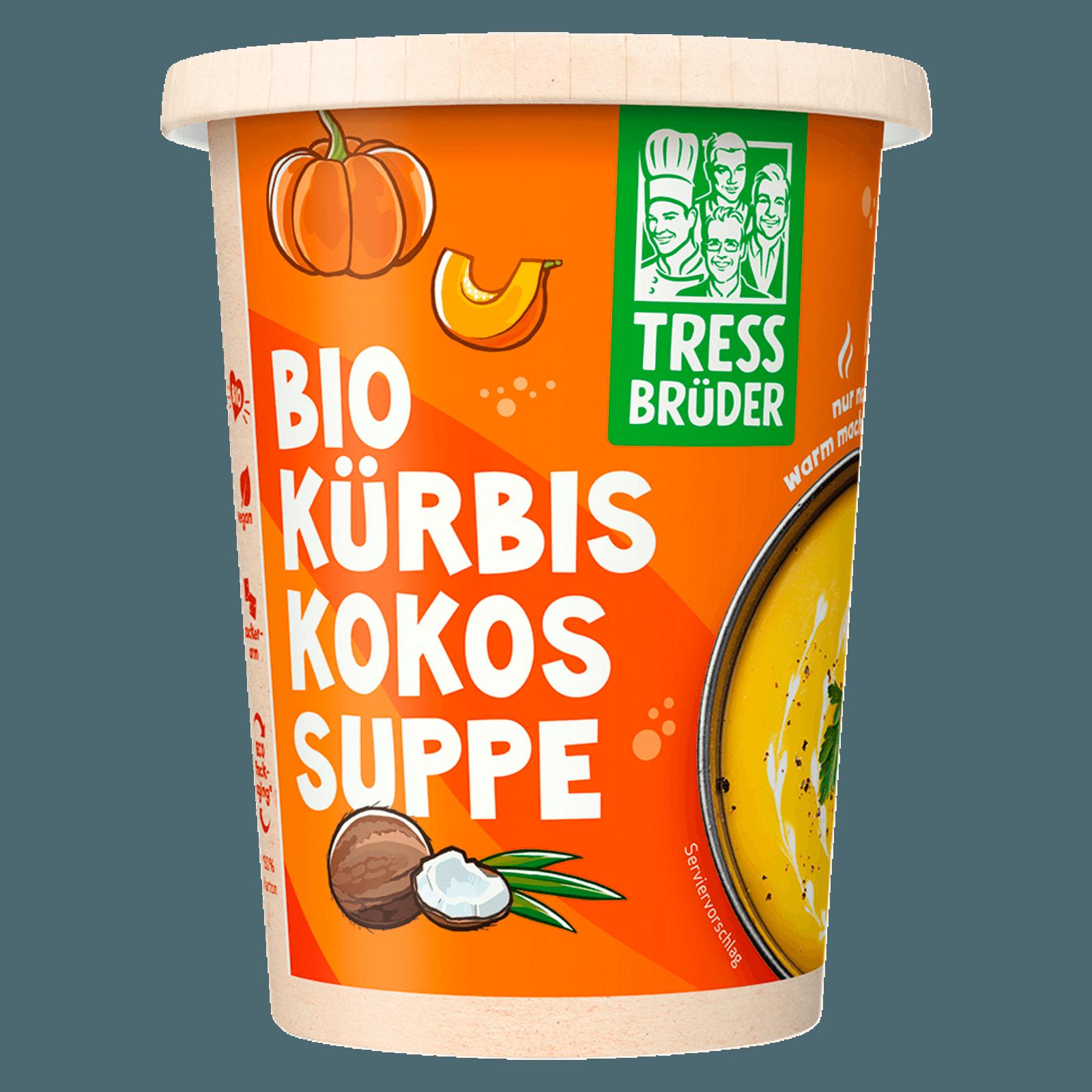 Kuchenbruder Frische Bioland Kurbissuppe Mit Kokos 450ml Bei Rewe