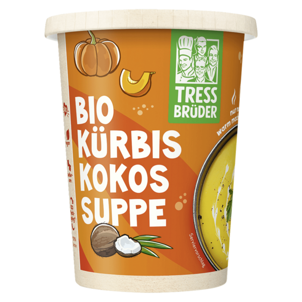 k chenbr der frische bioland k rbissuppe mit kokos 450ml bei rewe online bestellen. Black Bedroom Furniture Sets. Home Design Ideas
