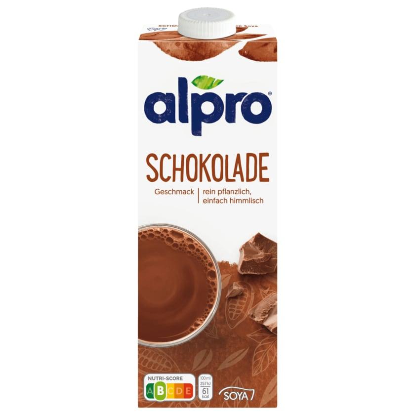 Alpro Soja-Drink Schokolade vegan 1l
