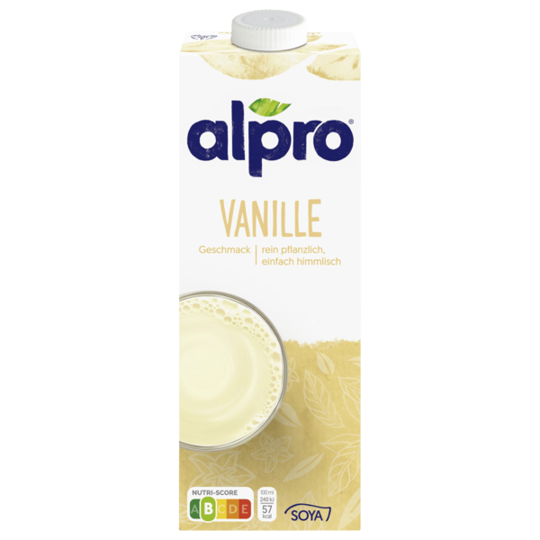 Alpro Soja-Drink Vanille vegan 1l