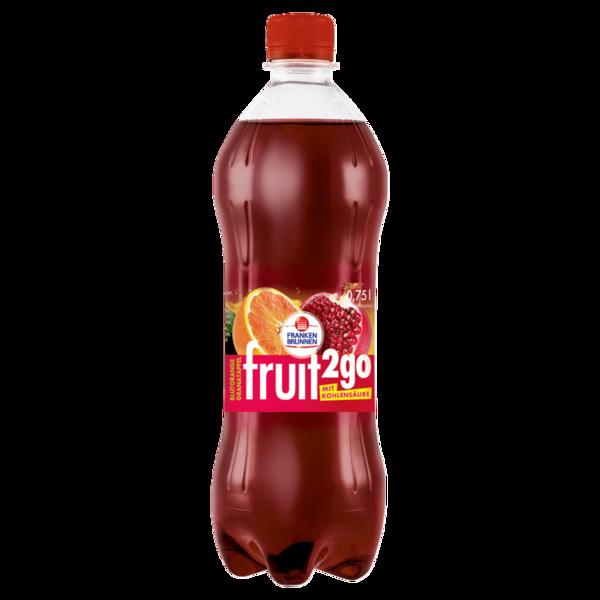 Franken Brunnen Fruit2go Blutorange-Granatapfel 0,75l