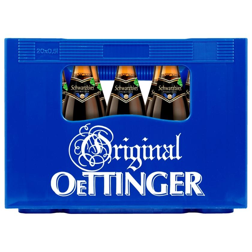 Original Oettinger Schwarzbier 20x0,5l