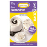 Günthart Back & Decor Rollfondant weiß 250g