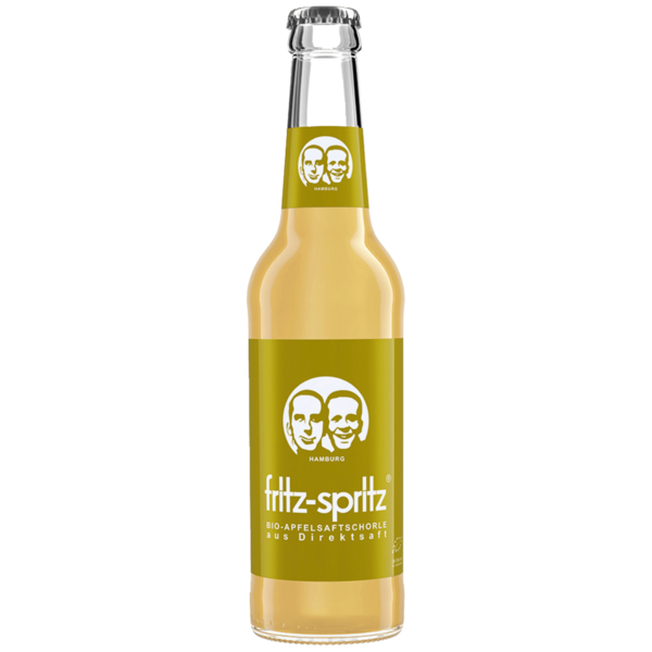Fritz-spritz Bio Apfelsaftschorle 0,33l