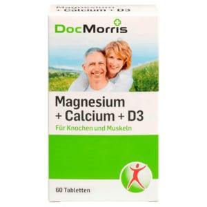 DocMorris Magnesium + Calcium + Vitamin D3 60 Stück