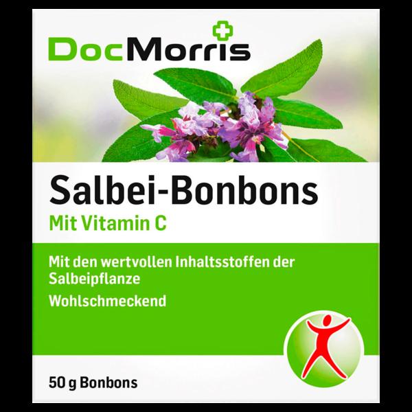 DocMorris Salbei-Bonbons mit Vitamin C 50g