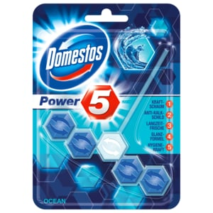 Domestos WC-Stein Power 5 Ocean 55g