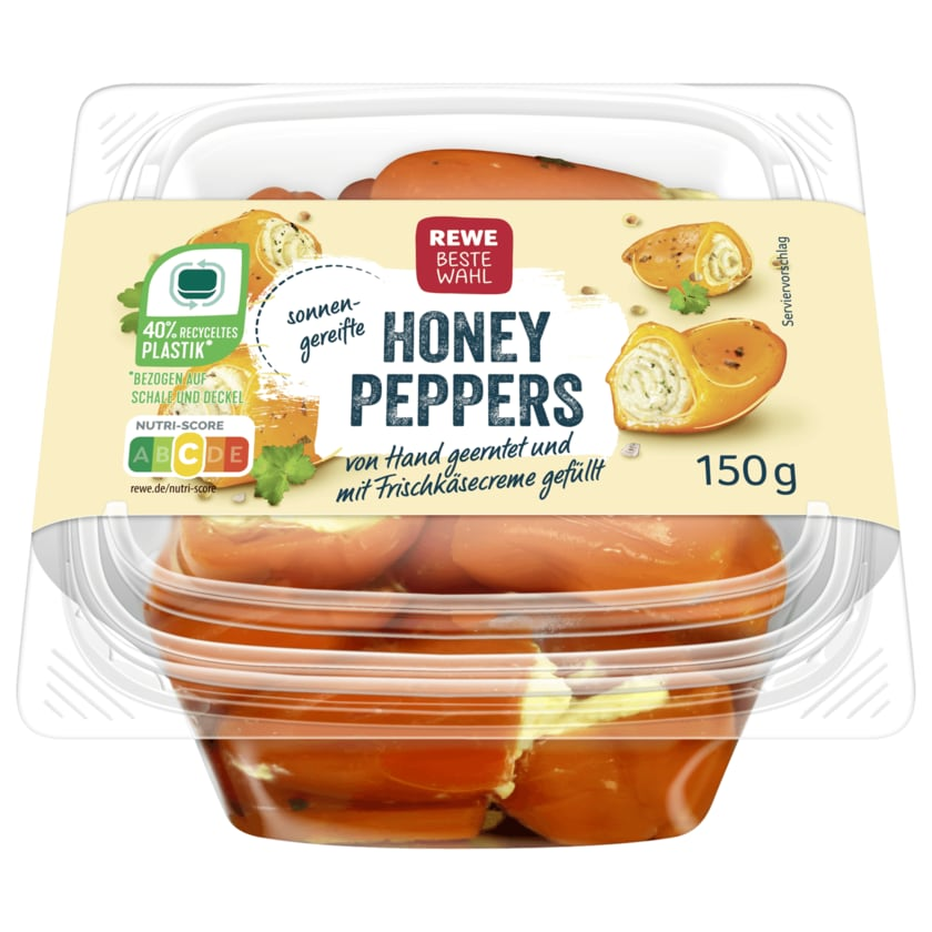REWE Beste Wahl Honey Peppers 150g