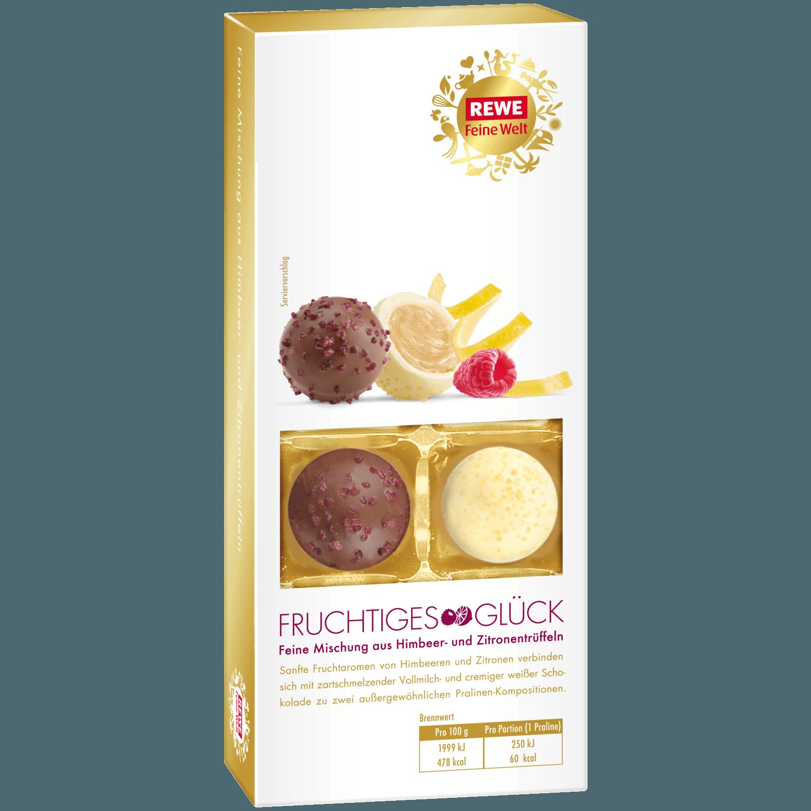 REWE Feine Welt Trüffel-Mix Fruchtiges Glück 100g