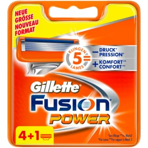Gillette Fusion Power Klingen 5 Stück