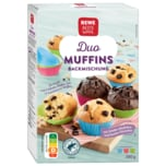 REWE Beste Wahl Duo-Muffins Backmischung 335g
