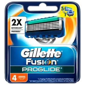 Gillette Fusion ProGlide Systemklingen 4 Stück