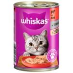 Whiskas 1+ Terrine mit Rind 400g