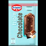 Dr. Oetker Triple Chocolate 100g