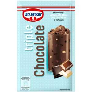 Dr. Oetker Triple Chocolate 100g