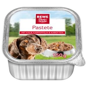 REWE Beste Wahl Hundefutter Pastete 150g