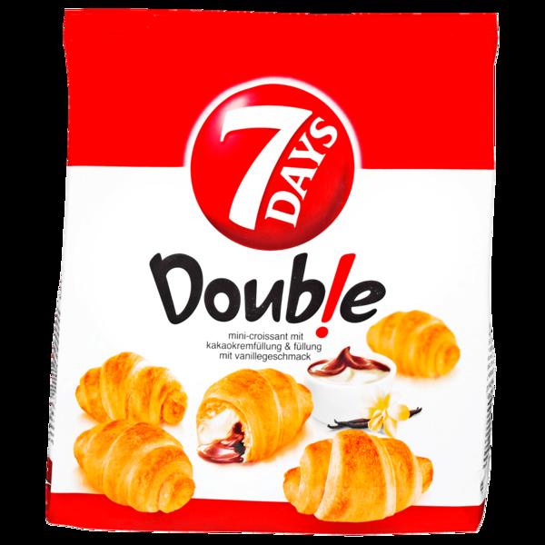 7 Days Double Mini-Croissant Kakao-Vanille 185g