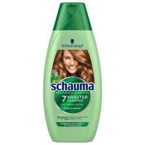 Schwarzkopf Schauma Shampoo 7 Kräuter 400ml Bei Rewe Online Bestellen