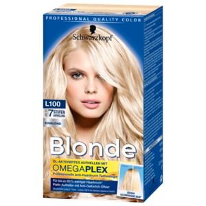Schwarzkopf Blonde Aufheller Platin Eisblond 180ml