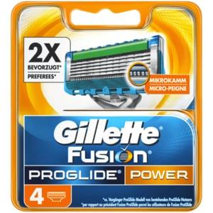 Gillette Fusion ProGlide Power Klingen 4 Stück