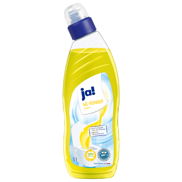 ja! WC-Reiniger Lemon 1l