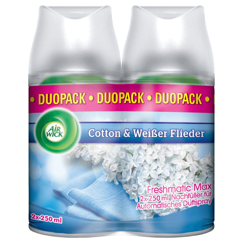 Air Wick Freshmatic Max Nachfüller Duopack Cotton 2x250ml