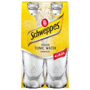 Schweppes Tonic Water 4x0,2l