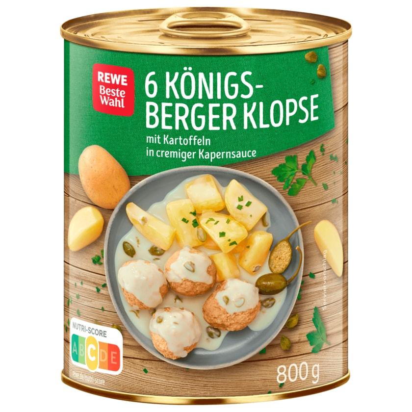 REWE Beste Wahl Königsberger Klopse 800g