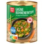 REWE Beste Wahl Grüne-Bohnen-Eintopf 800g