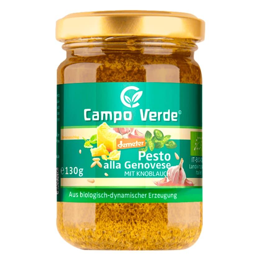 Campo Verde demeter Bio Pesto Genovese 130g