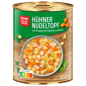 REWE Beste Wahl Hühner-Nudeltopf 800g
