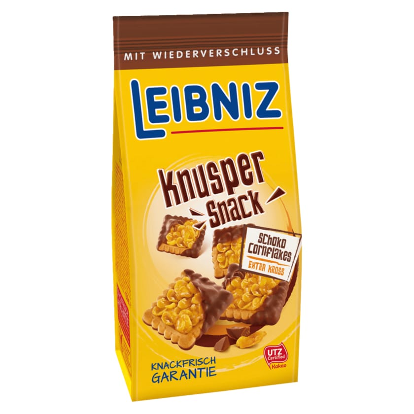 Leibniz Knusper-Snack Cornflakes Schoko 150g