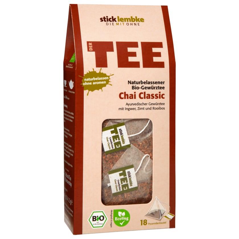 Stick & Lembke Bio-Gewürztee Chai Classic 45g, 18 Beutel