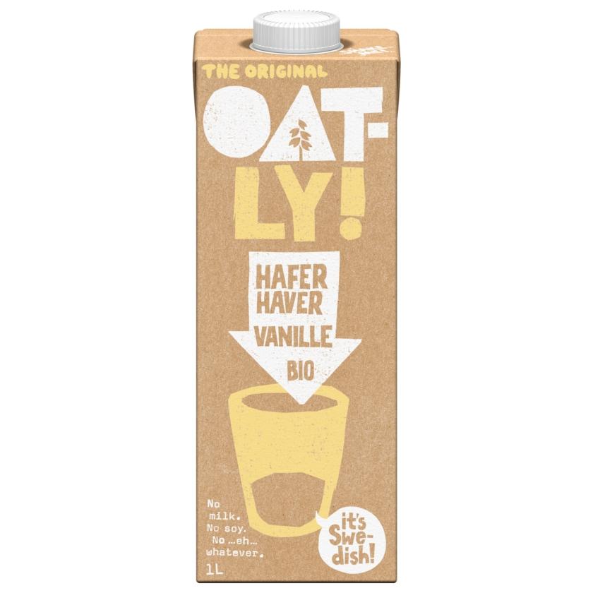 Oatly Hafer-Drink Vanille Bio vegan 1l