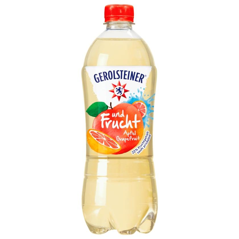 Gerolsteiner und Frucht Apfel Grapefruit 0,75l