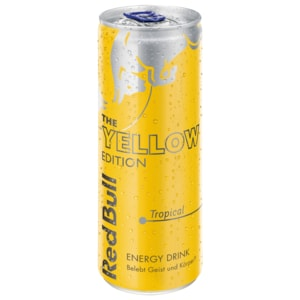 Red Bull Energy Drink Yellow Edition Tropical 250ml