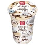 REWE Beste Wahl Fruchtjoghurt Kokos & Schokoballs 250g