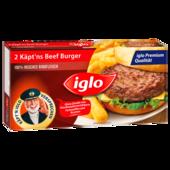 iglo Käpt'ns Beef Burger 227g