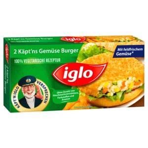Iglo Gemüse-Burger 250g, 2 Stück