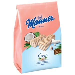 Manner Schnitten Kokos 400g