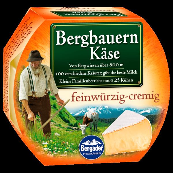 Bergader Bergbauern Käse Minitorte feinwürzig cremig 150g