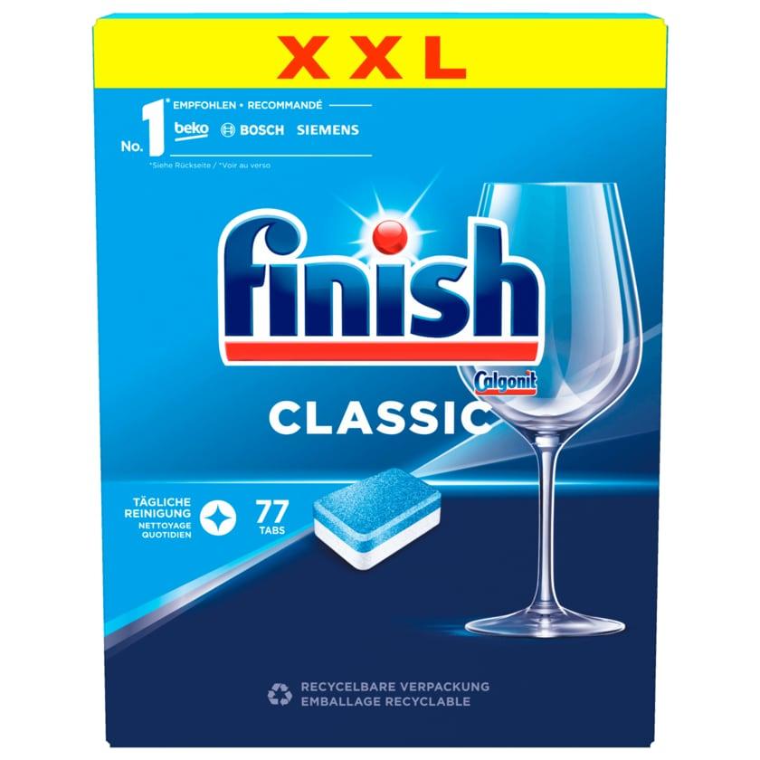 Finish Spülmaschinentabs Classic XXL Pack 77 Tabs